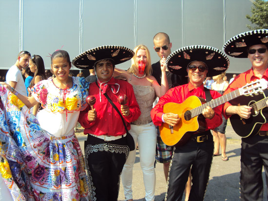 boeking mexicaanse band